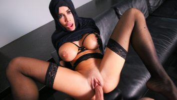 Busty Arabic Teen Violates Her Religion Victoria June