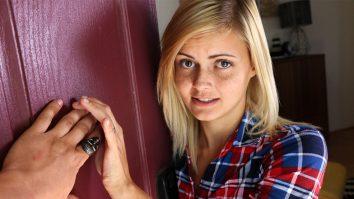 Super cute blonde teen Madison Hart