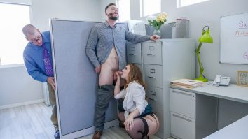 Titty Attack The Porn Office Lena Paul