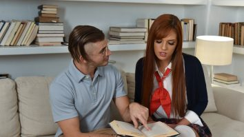 Innocent High Brain For The Tutor Scarlett Mae