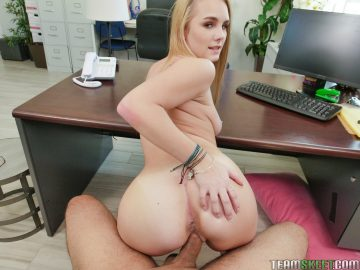 Natalie Knight takes big cock from behind