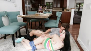 Stepsiblings Which Stepsis Will Fuck First Alex Coal and Judy Jolie
